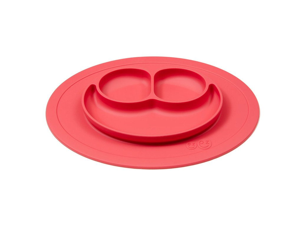 Silikónový tanier - Mini Mat - Coral
